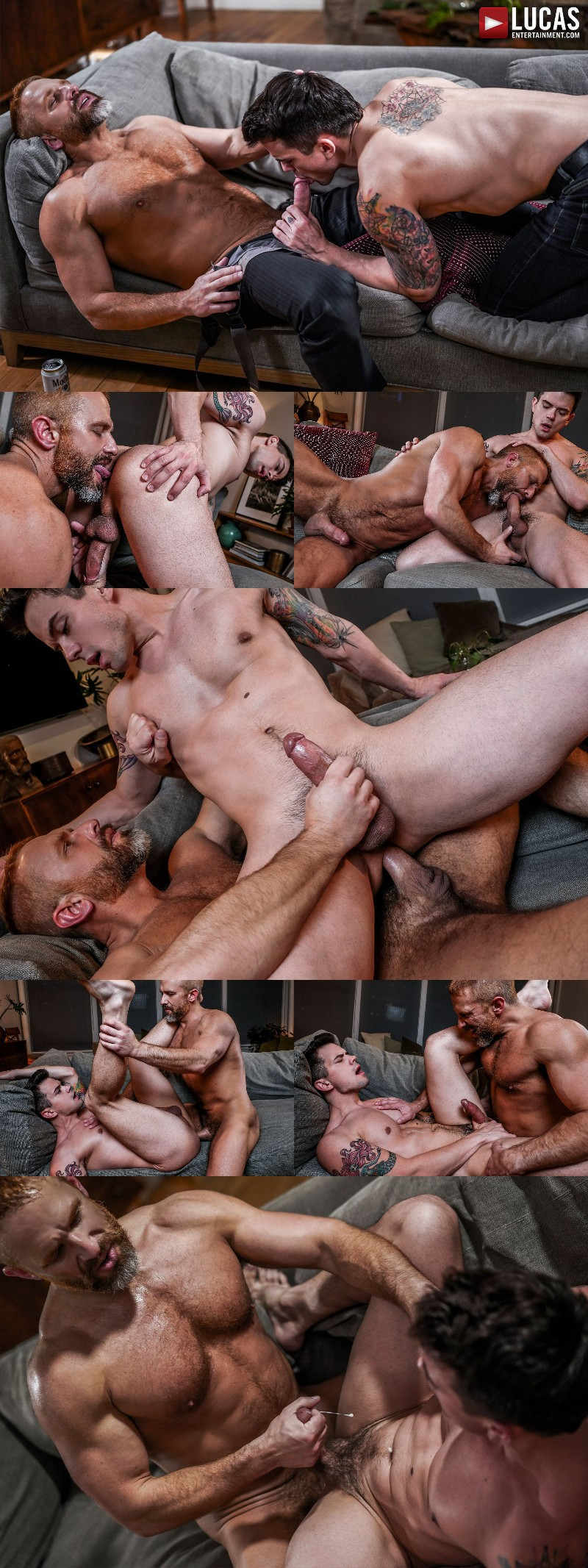 Dirk Caber Fucks His Ex-Lover's Stepson Dakota Payne