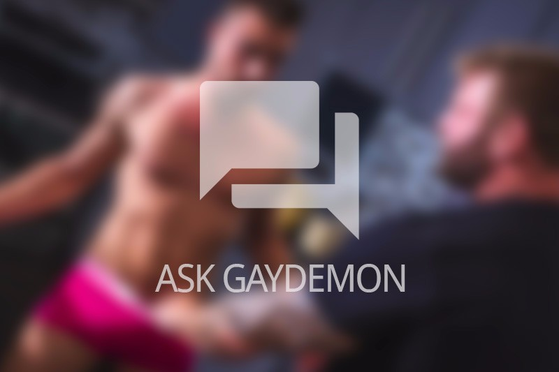 Ask GayDemon: Naked Gay vs. Clothed Straight