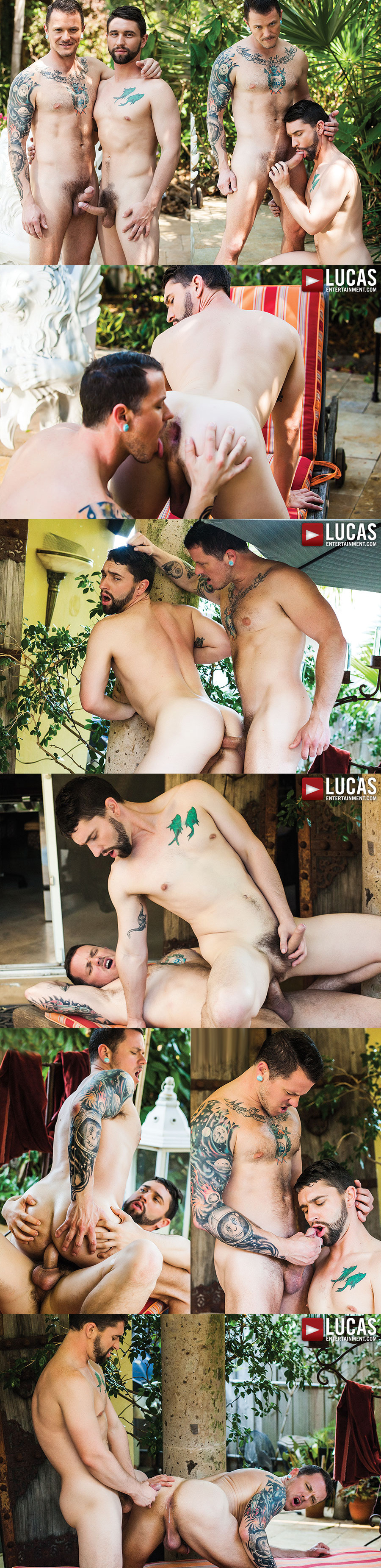 Lovers Max Cameron & Jackson Fillmore Flip Flop