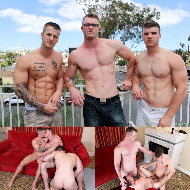 Active Duty: Quentin Gainz, Ivan James & Scott Ambrose