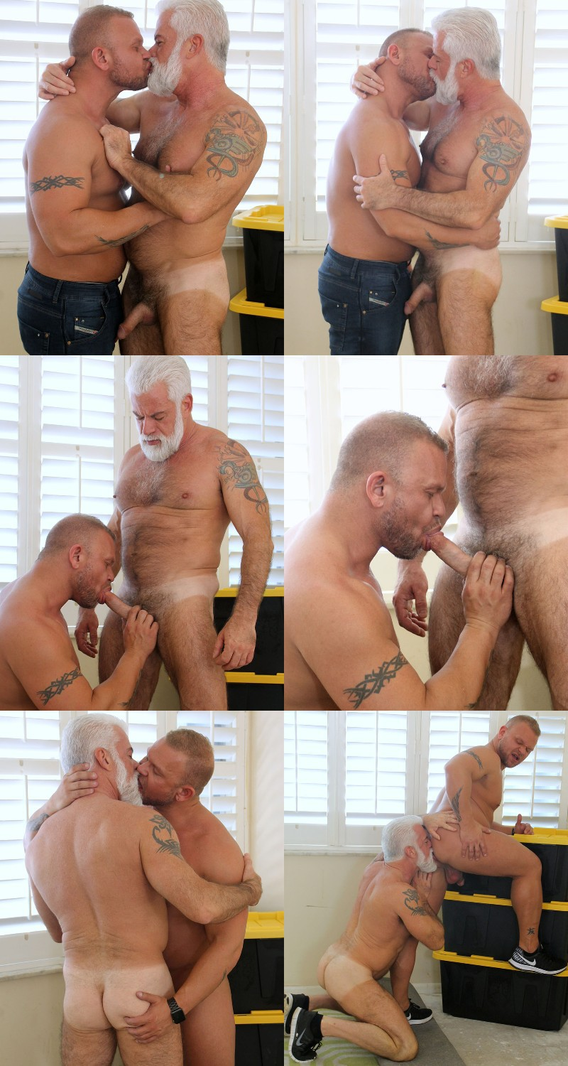 Silver Daddy Jake Marshall Returns for a Flip-Fuck at Hot Older Male