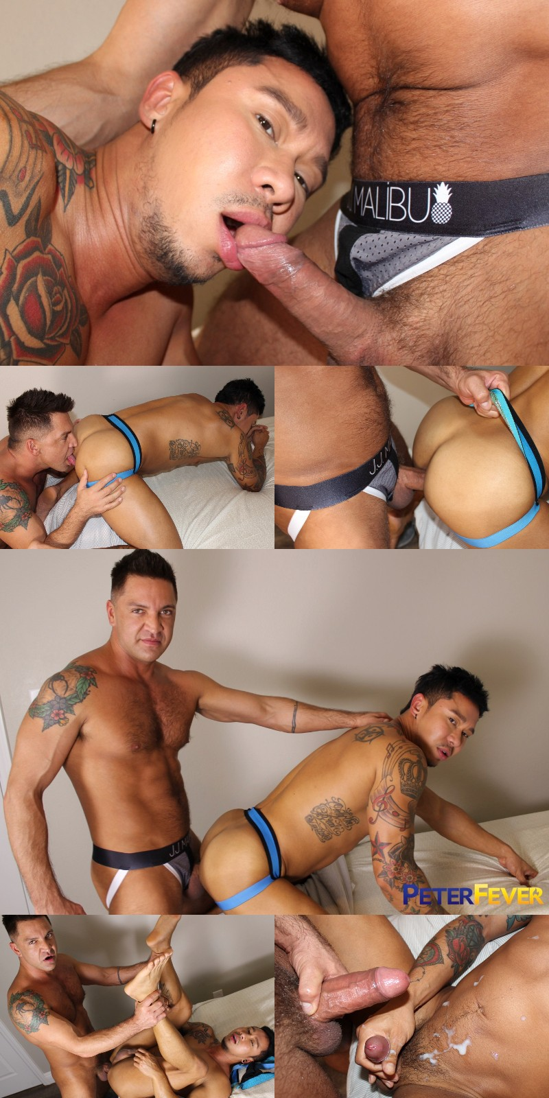 Thai Muscle Boy Gets Fucked in Peter Fever's Third Bareback Video