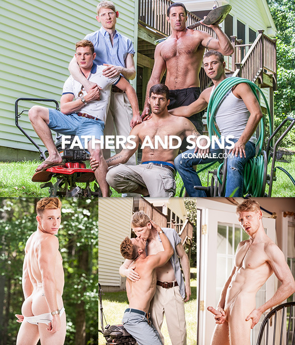 Fathers and Sons: Brent Corrigan and Rob Yaeger