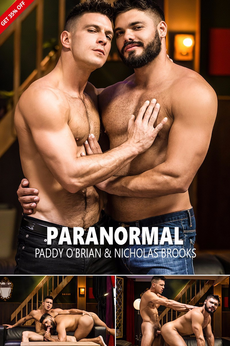 """Paranormal"" with Paddy O'Brian & Nicholas Brooks"