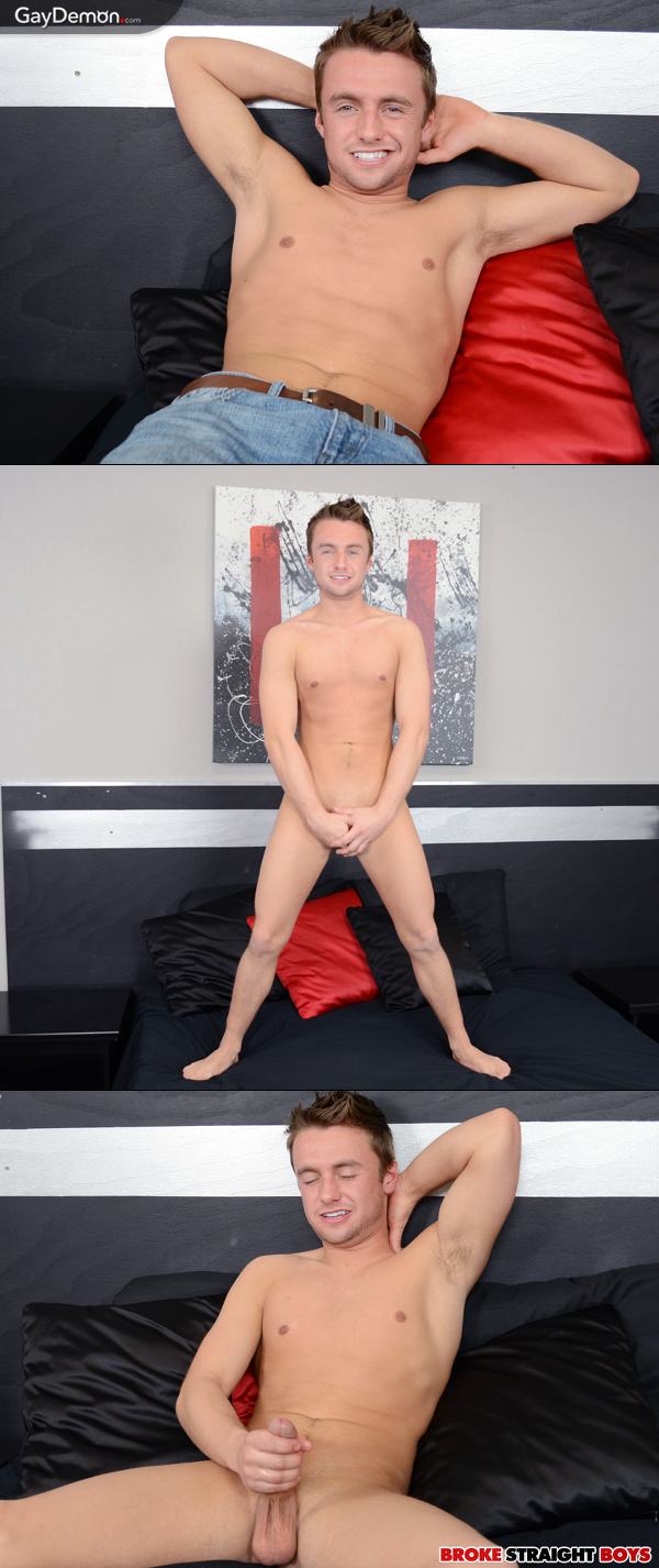 Straight Guy Abel Jacking Off On Video