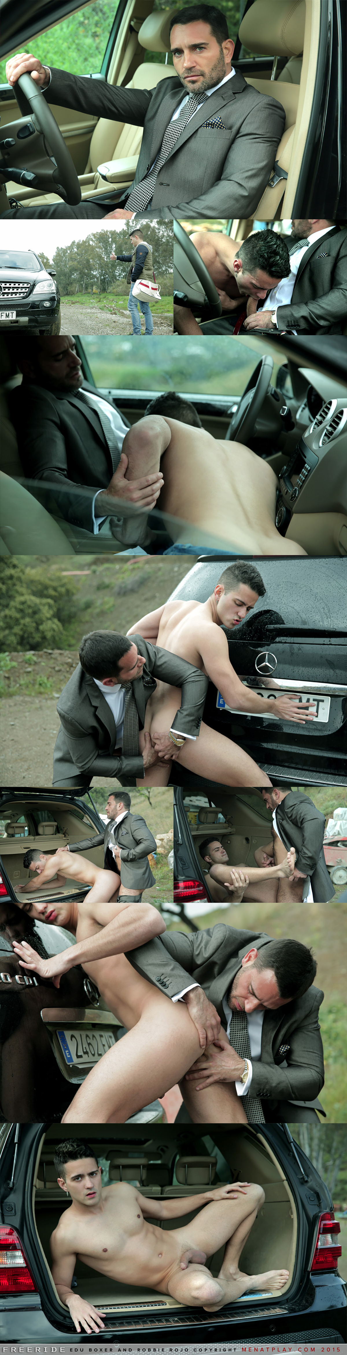 Edu Boxer Fucks Robbie Rojo in 'Free Ride'