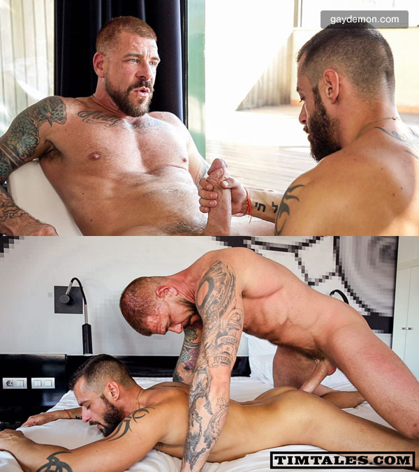 New Muscle Daddy Rocco Steele Fucks David Avila Raw
