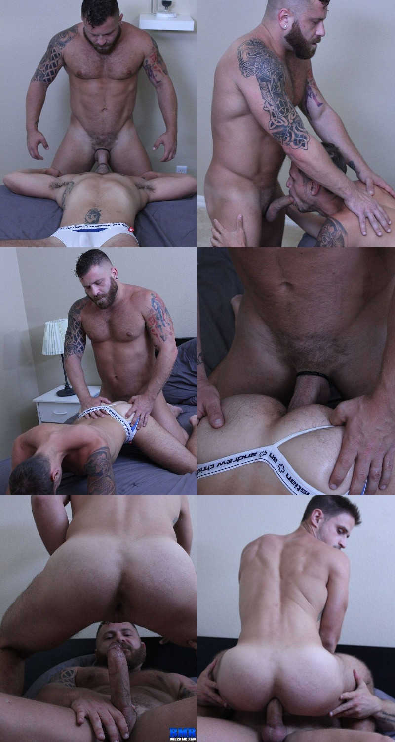 Riley Mitchel Buries His Big Dick in Jackson Reed's Ass
