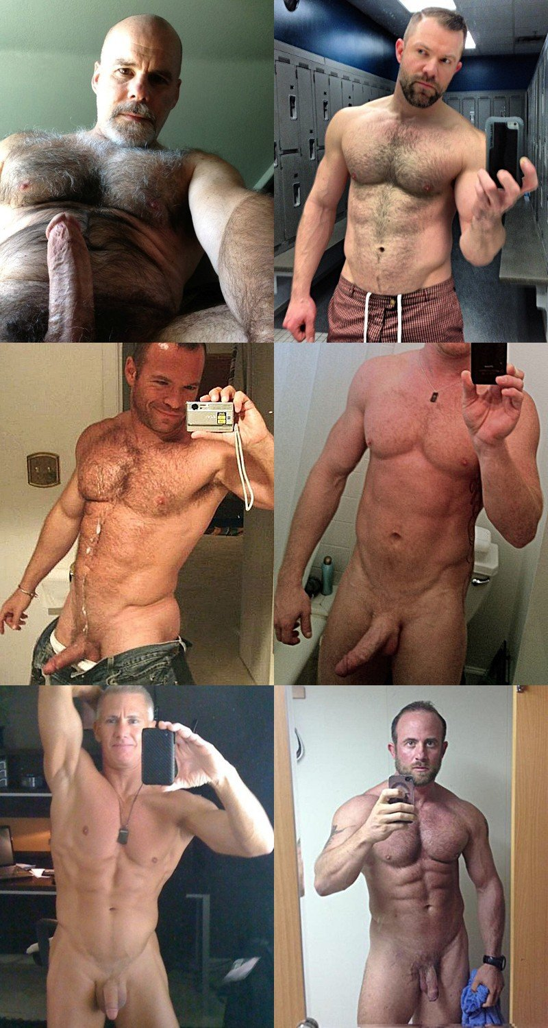 Top #Selfies of the Week: Hunky Naked Guys