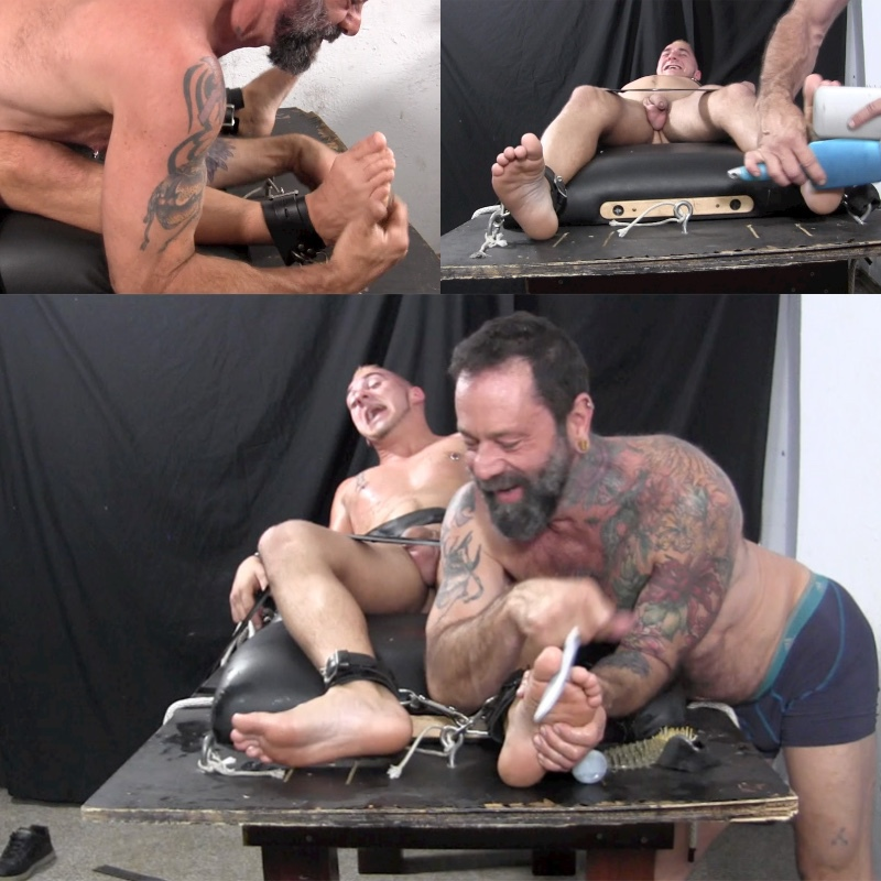 Dominic Gets Tied & Tickle Tortured