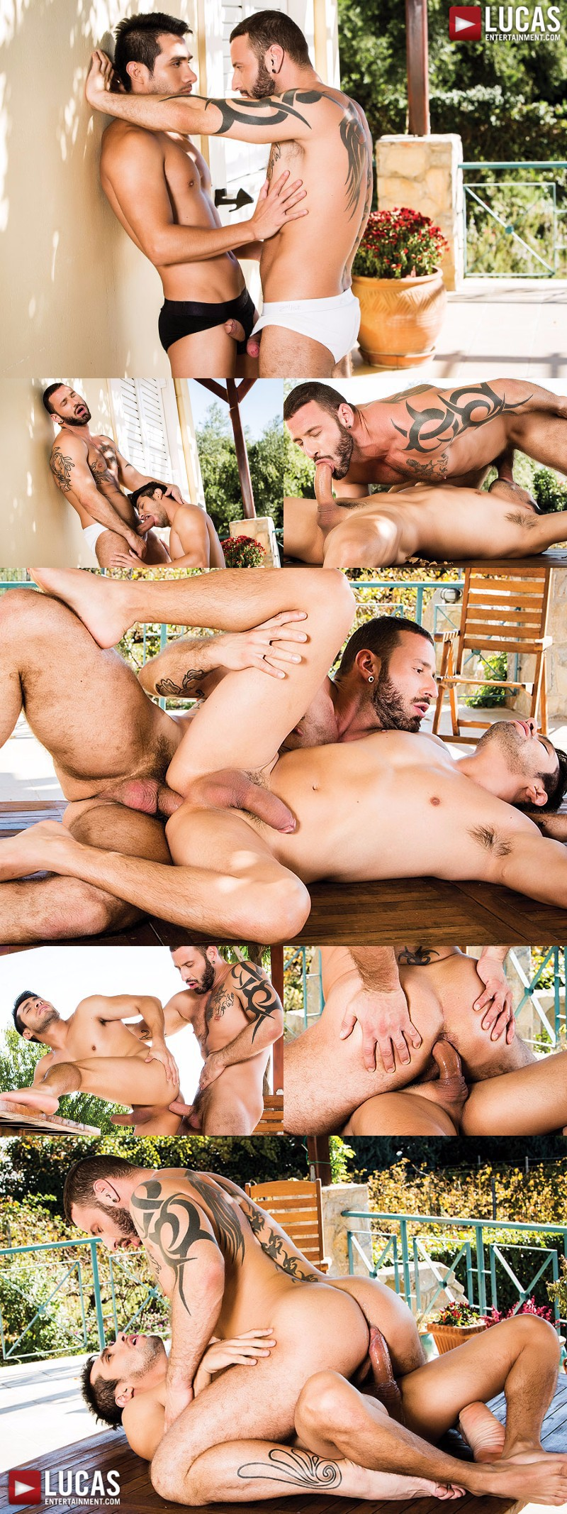 Antonio Miracle & Derek Allan Flip-Fuck Outdoors