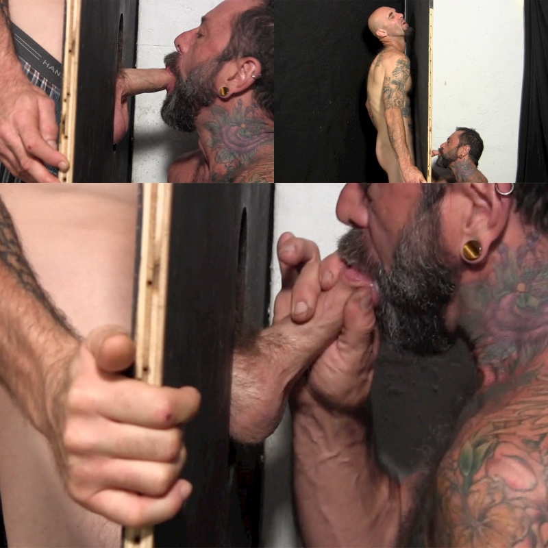 Joe D. Wood at the Straight Fraternity Glory Hole