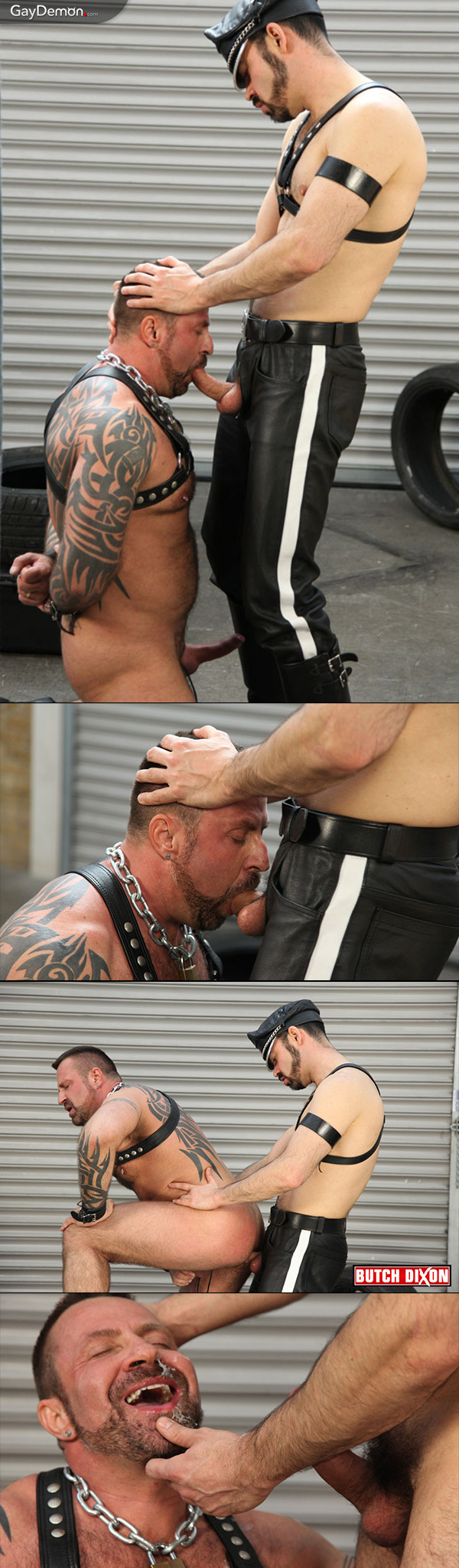 Dolan Wolf & His Bound Sub Marc Angelo
