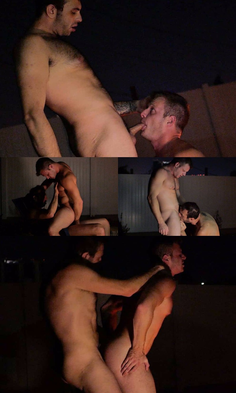 Spontaneous Threeway Breaks Out After a Video Shoot Wrapped