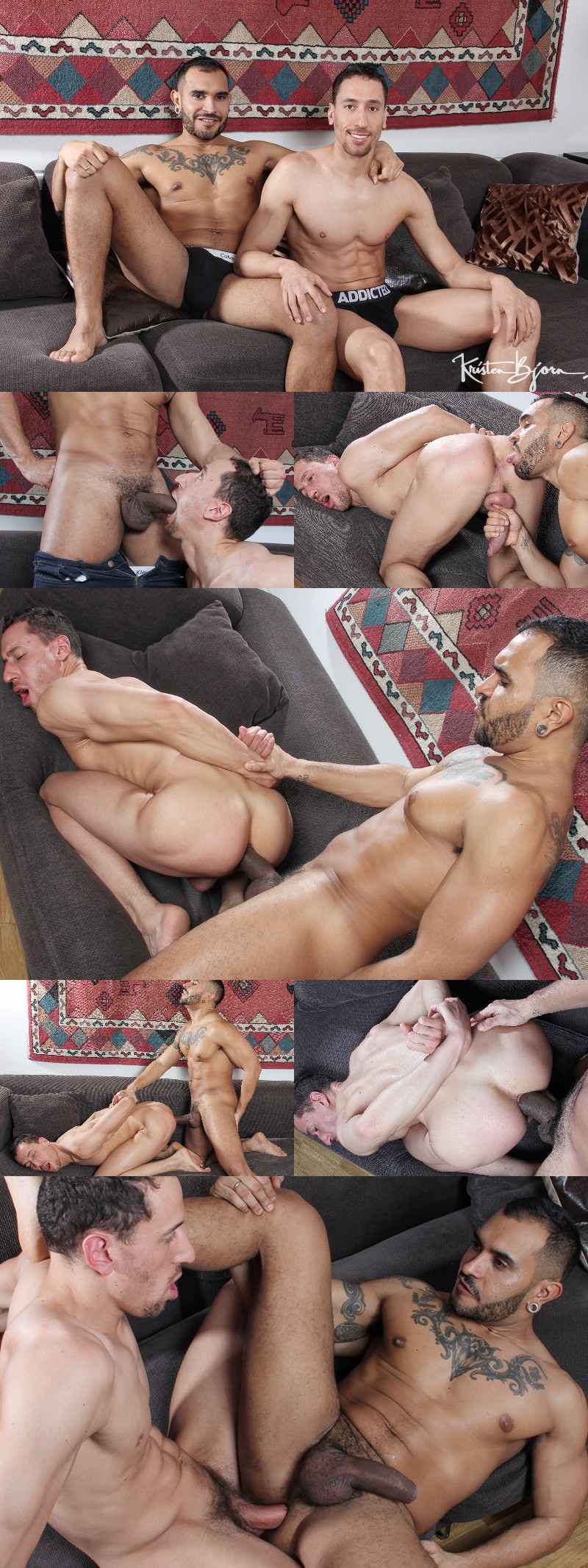 Lucio Saints Is Back For Round Two at Kristen Bjorn and He Bottoms, Too!