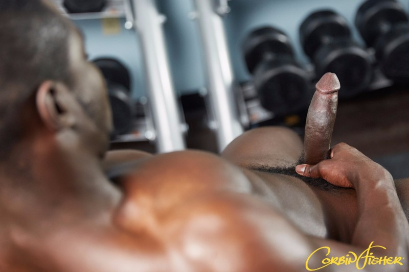 Xavier Pumps in the Gym