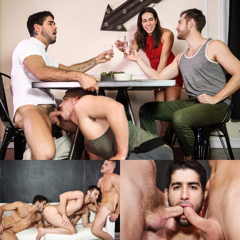 "Diego Sans in ""Stealth Fuckers"" with Jacob Peterson & Darin Silvers"
