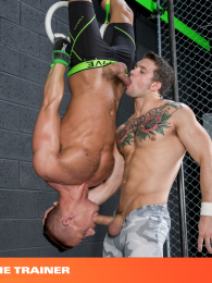 The Trainer Sebastian Kross And Rex Camero