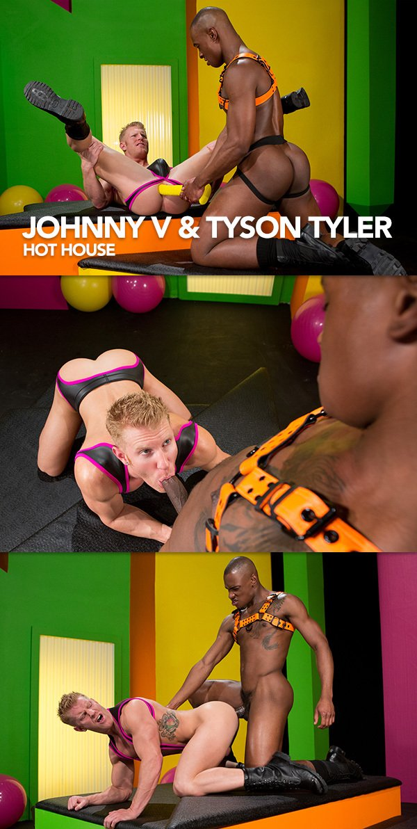 Hot House: Johnny V & Tyson Tyler in After Glow