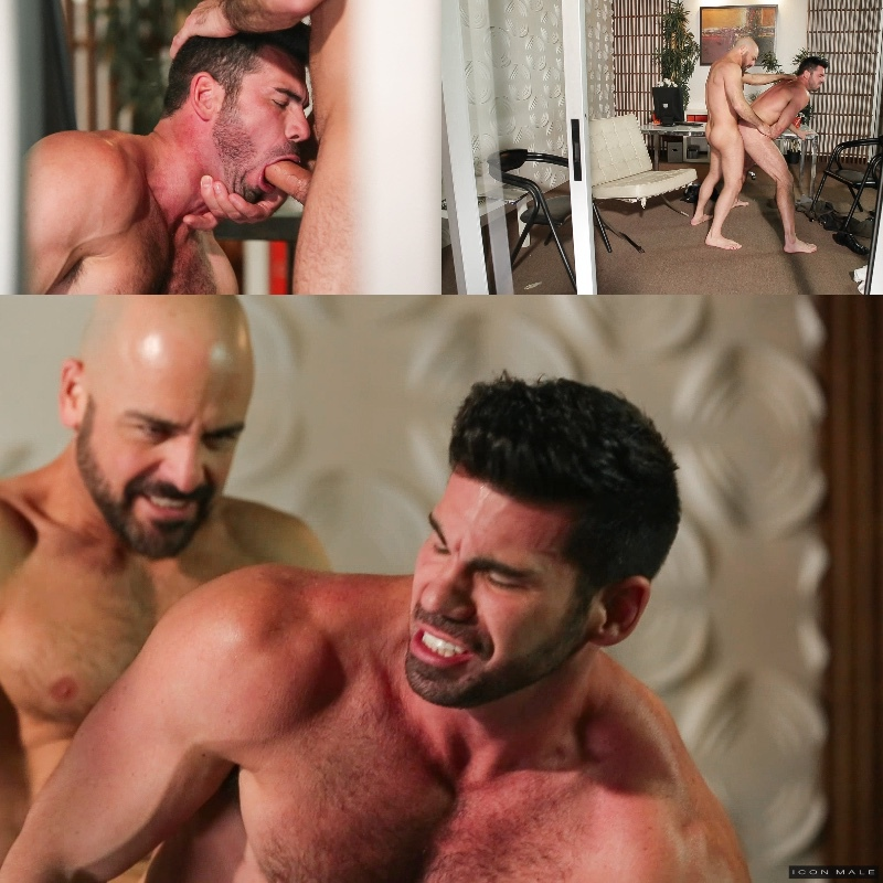 Adam Russo & Billy Santoro at Icon Male