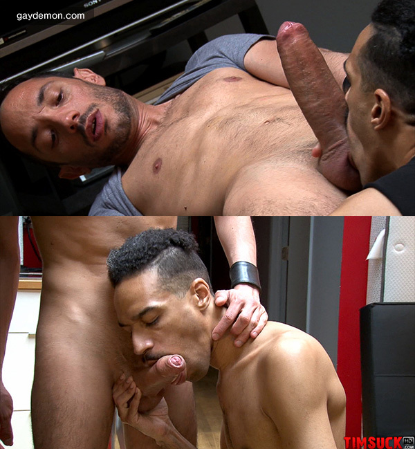 Hung Cocksucker Swallows All of this Huge Cock