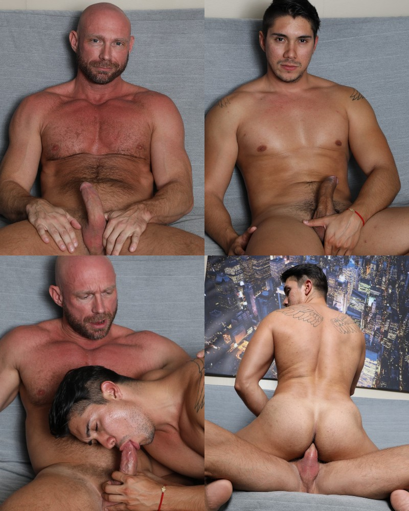 Adrian Suarez Seduces a 45-Year-Old Straight Man