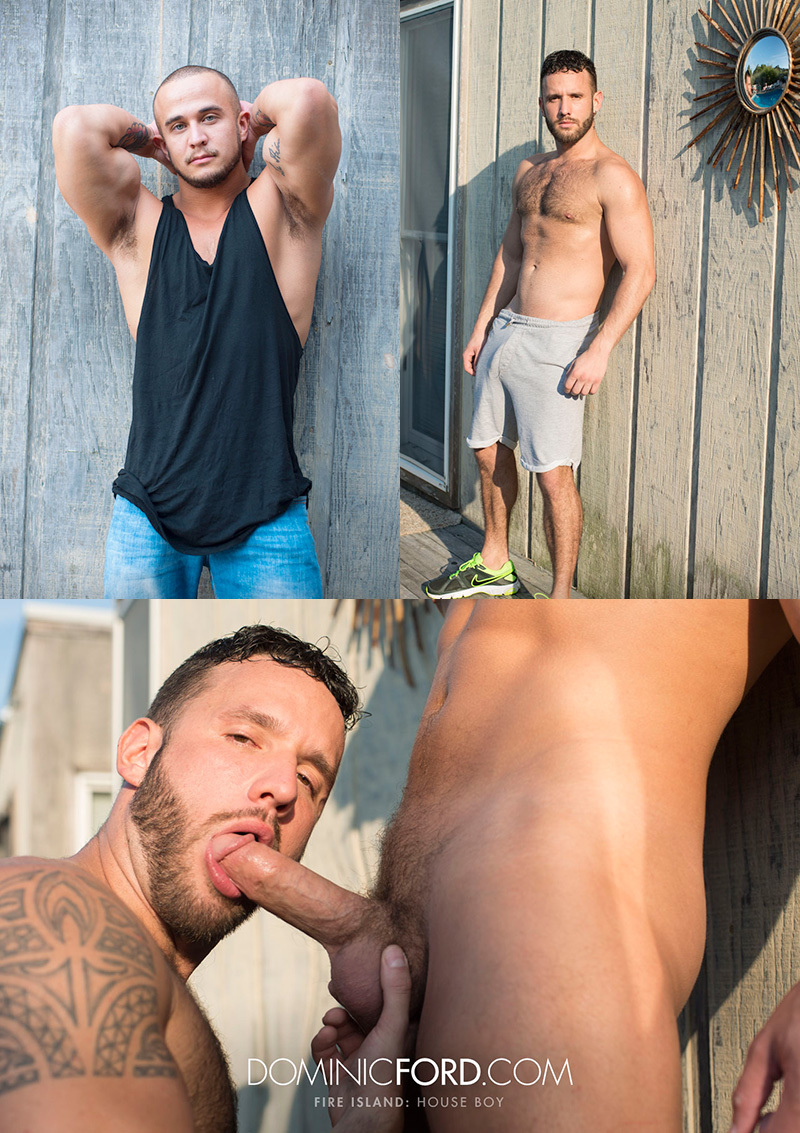 Alex Graham & Aaron Steel in 'Fire Island, House Boy Part 5'