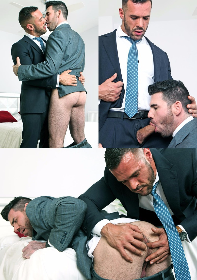 "Billy Santoro & Denis Vega in ""Guaranteed Deposit"""