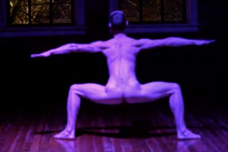 Guy Watching: Naked Dancer Dances Naked