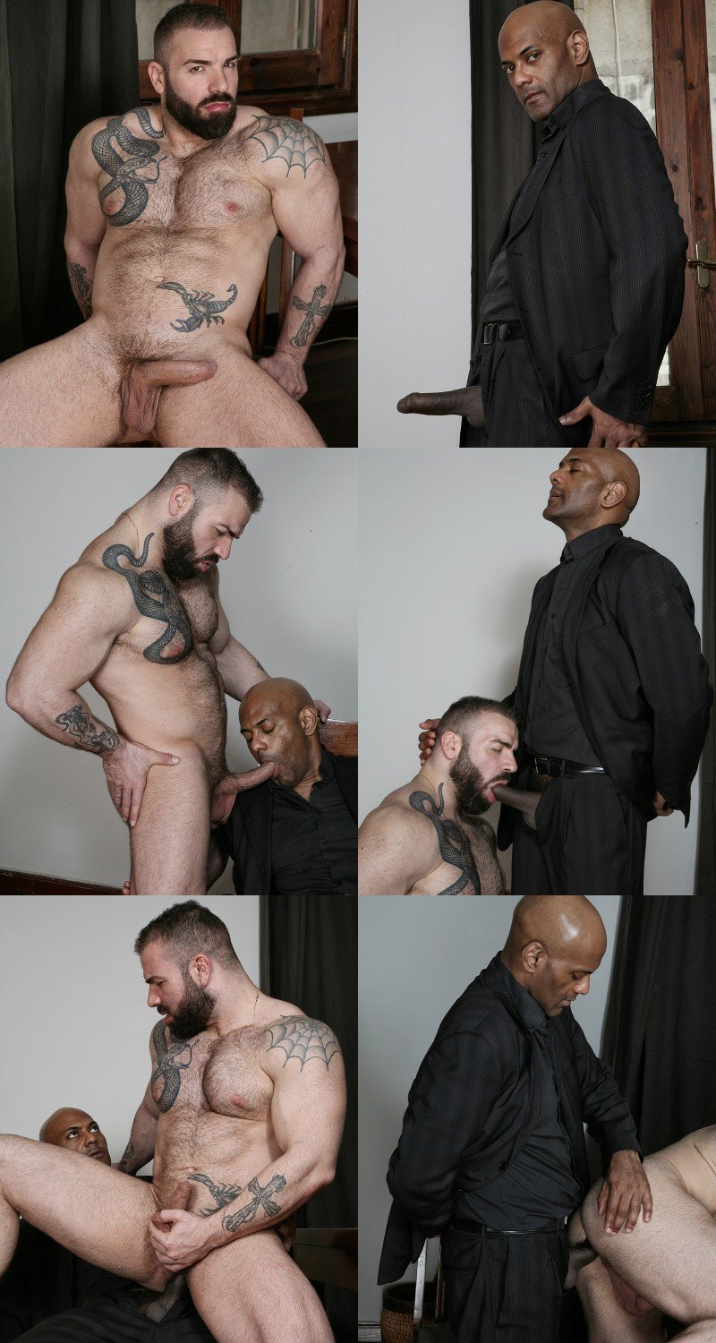 Hairy Muscle Hunk Max Hilton Gives William Bravo a Seductive Lap Dance & More