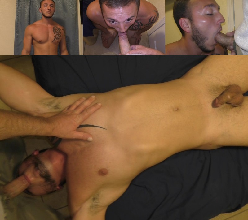 Halfway House Virgin Takes a Dildo & Two Cocks Up His Ass