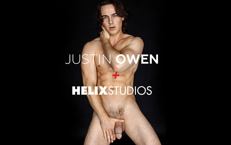 Justin Owen Signs As Helix Studios Exclusive Model