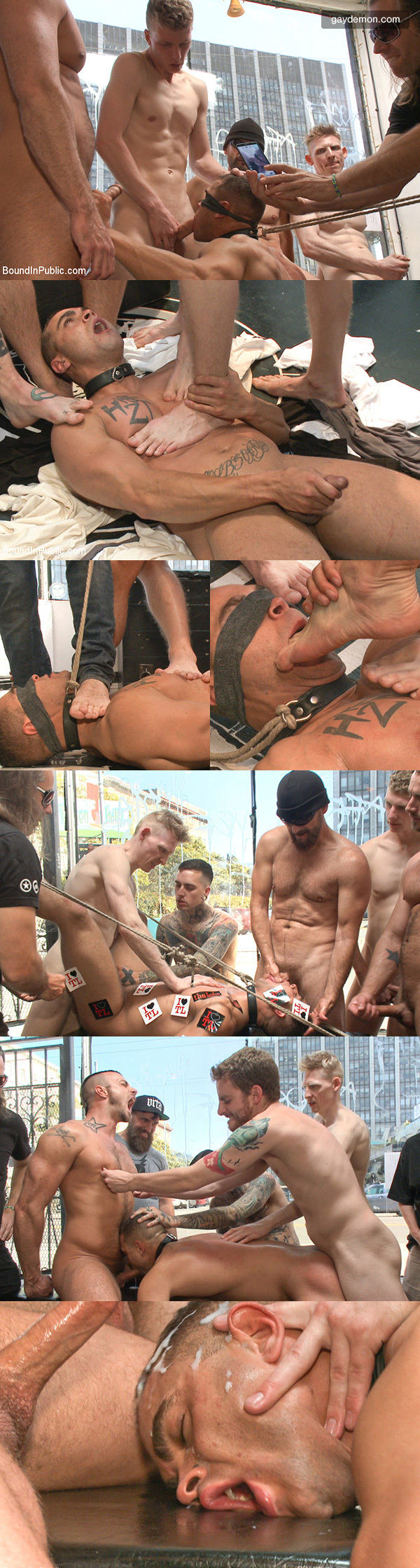 Muscle Stud's Foot Smothering Ordeal