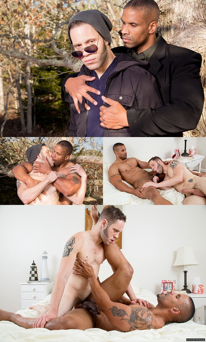 Wolf Hudson & Robert Axel In 'His Personal Trainer'