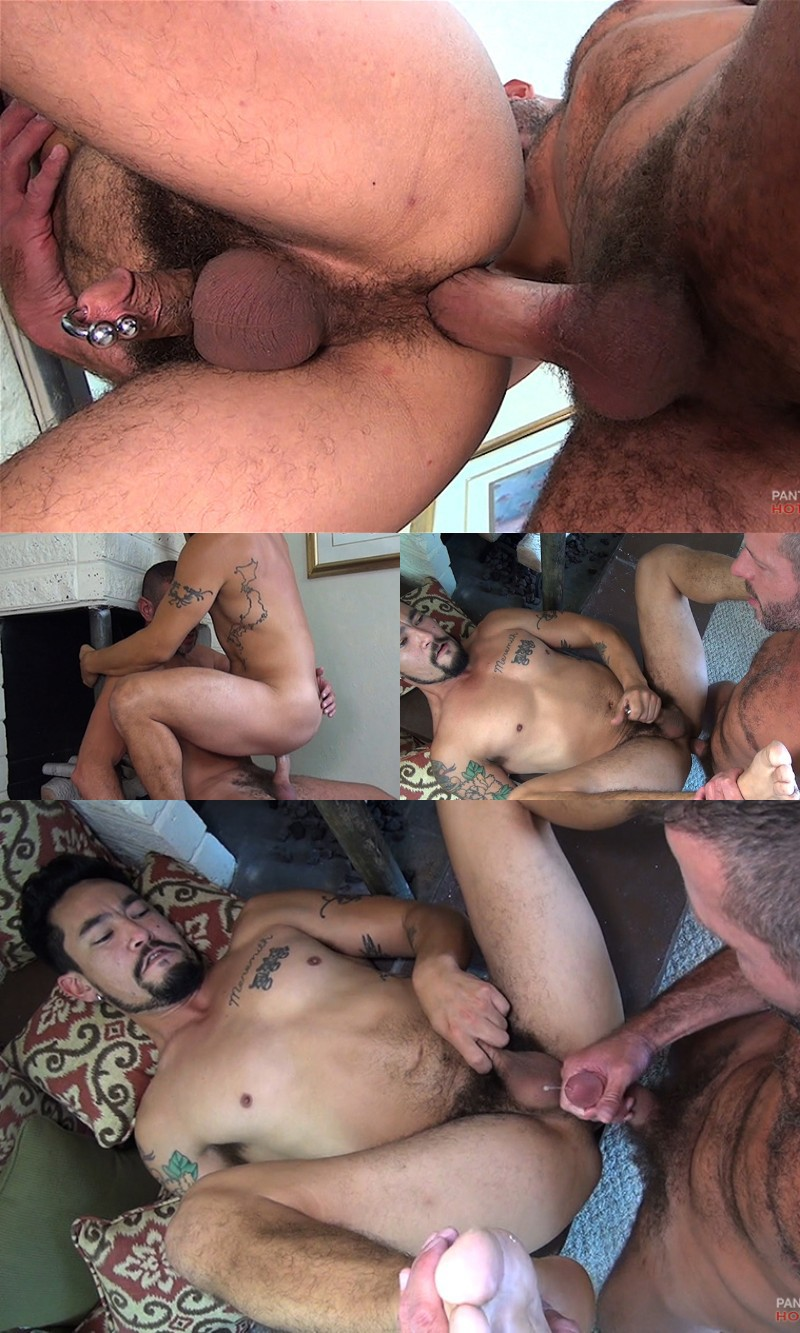 Sexy Daddy Gives His New Neighbour A Welcome Fuck