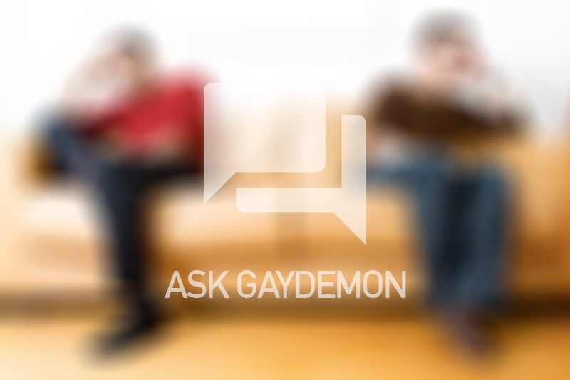 Ask GayDemon: Two Minus One Plus One
