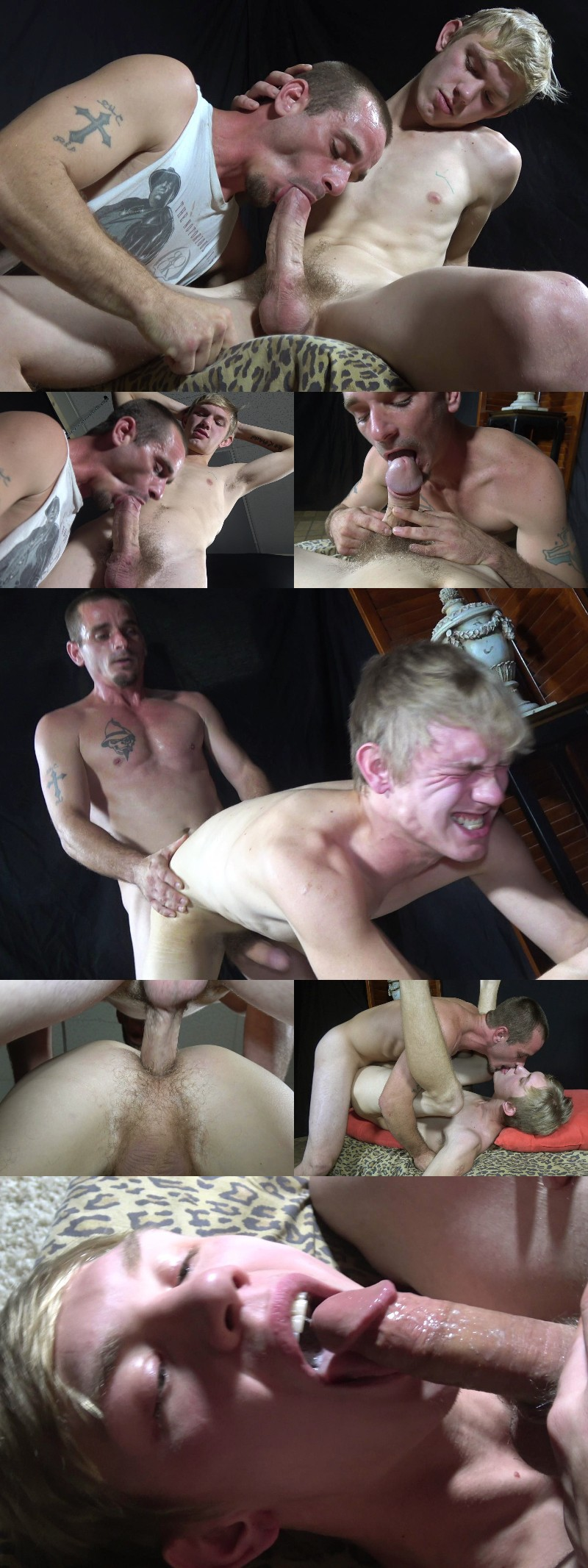 Bare Fuck Buddies Flip-Fuck & Swap Cummy Kisses