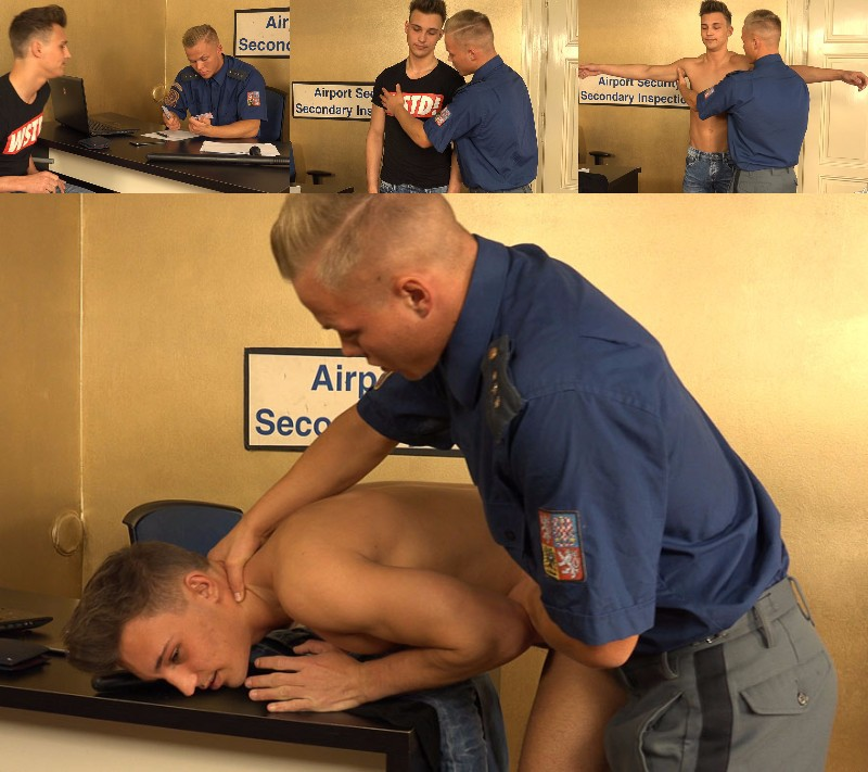 "STr8 Hell: Boda Gold and Martin Polnak in ""Airport Security"""
