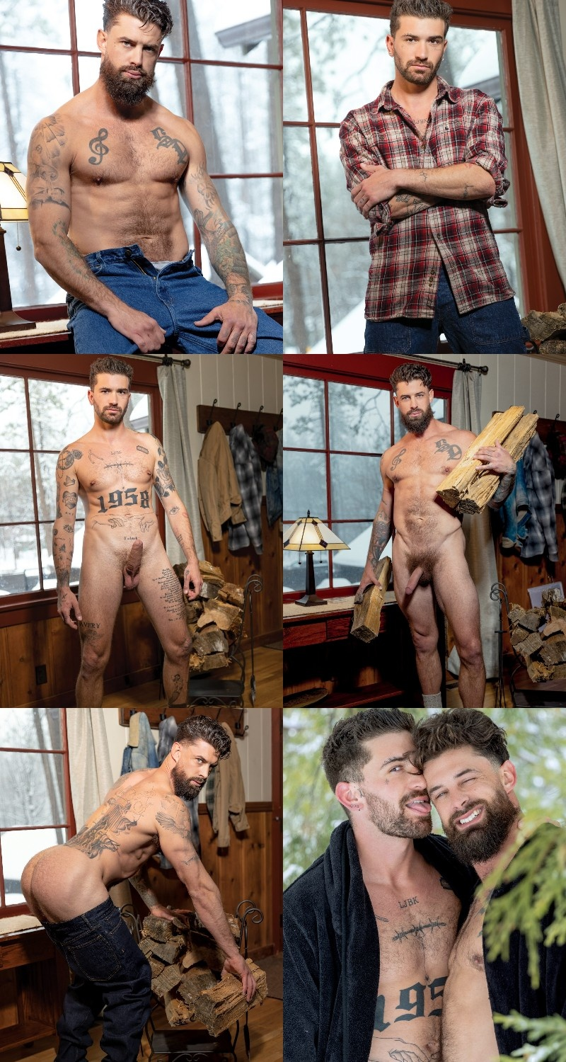 """Sexy Vers Hunk Alpha Wolfe Debuts in """"Mountain Tops"""""""