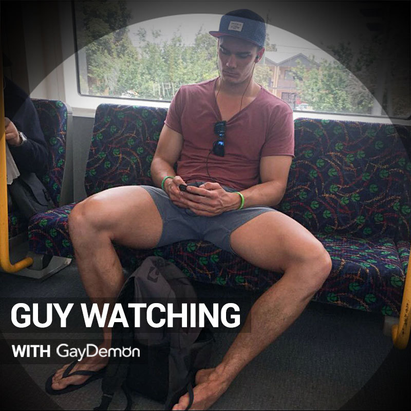 Guy Watching: Cock Hungry