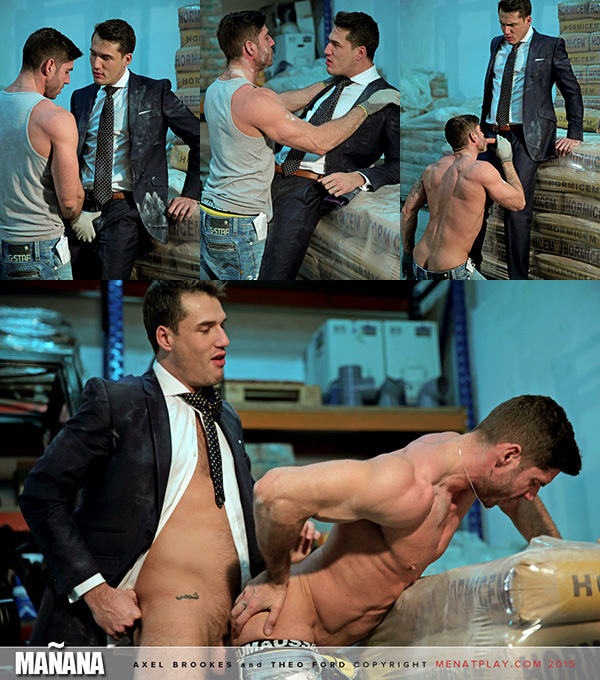 Theo Ford Mounts Axel Brooks in a Warehouse