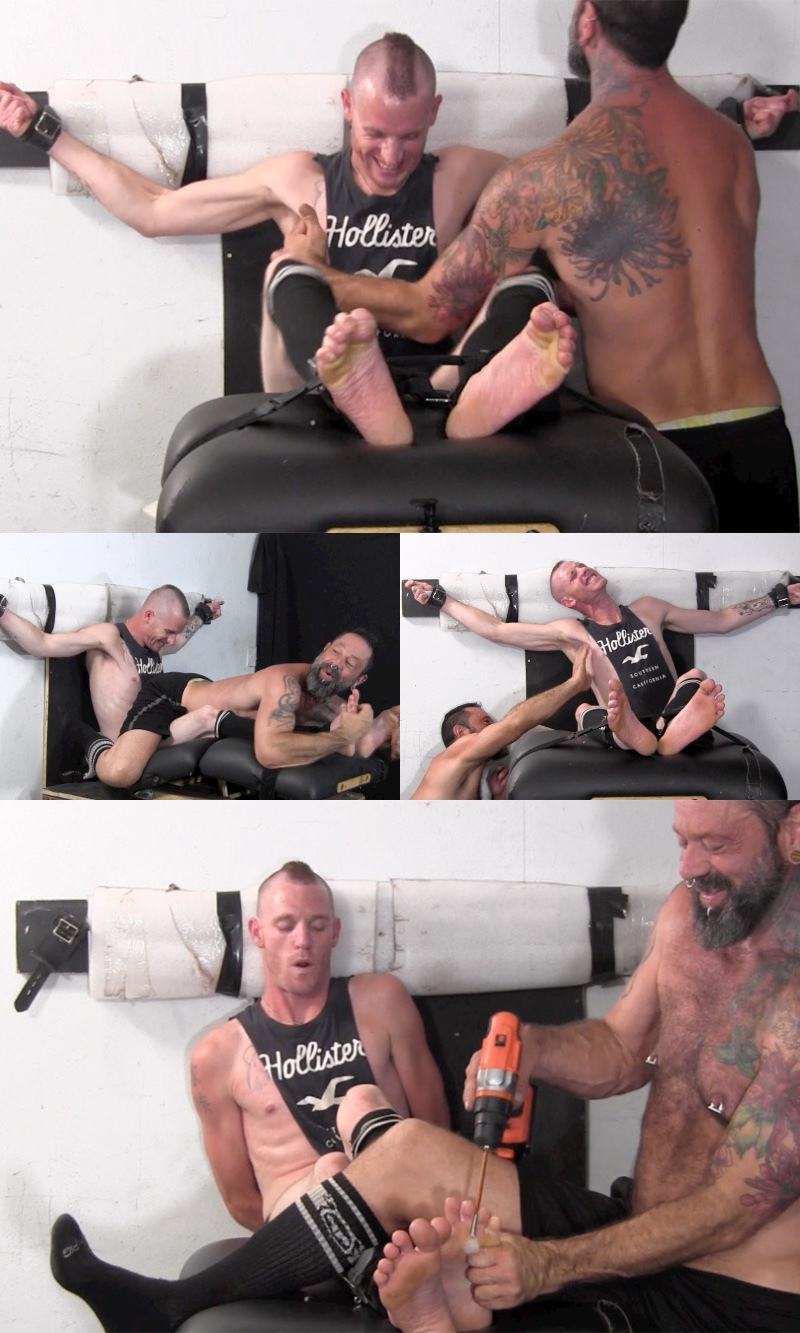 Texas Gets Tickled & Prostate Milked