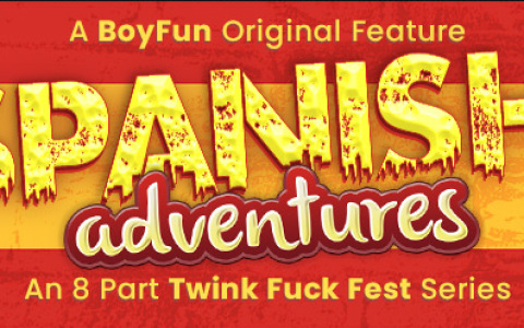 "Boyfun Releases 8-Part Movie ""Spanish Adventures"" with Big Discount"
