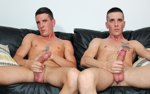 Real Brothers Jerk Off Side By Side