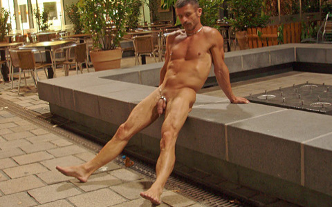 Public Exposure: Completely Naked