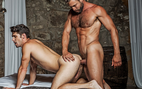 French Muscle Daddy Tops Devin Franco