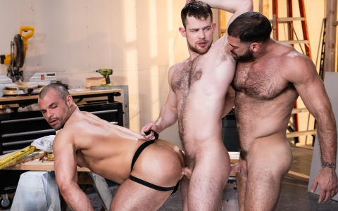 "Bareback Flick ""Raw Construction"" Debuts at Raging Stallion"