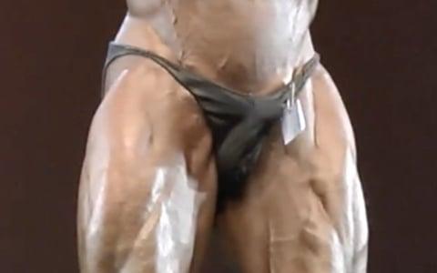Public Exposure: Bodybuilder Can't Hide Erection