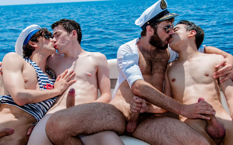 Twink Orgy on the High Seas