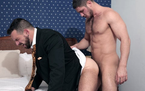Dato Foland Fucks Enzo Rimenez's Virgin Ass